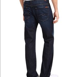 7 For All Mankind Austyn Relaxed Straight  Dark